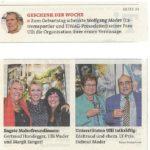 Innsbrucker Stadtblatt im Oktober 2014